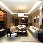 Warm Lighting Living Room