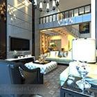 Villa Duplex Living Room Design