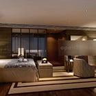 غرفة نوم رئيسية التصميم الداخلي