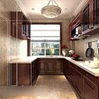 يو شكل المطبخ الداخلية