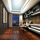 Interior design del soffitto della sala studio