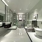 Bathroom Glass Door Interior V2