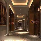 Interior Hotel Aisle Corridor V1