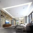 Modern Living Room Ceiling Decor Interior