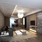 Simple Living Room Interior V9