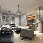 Modern Living Room Furniture Interior V1