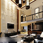 Modern Duplex Living Room Interior