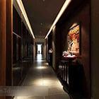 Wnętrze korytarza hotelowego V10