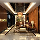 Chinese Style Living Room Interior V10