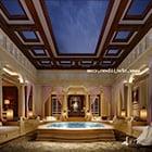 Interno sala spa reale
