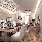 Modern Dinning Room Interior V1