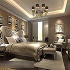 European Style Bedroom Interior V12