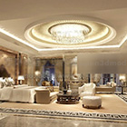 Round Ceiling Decor Living Room Interior