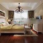 洋室の寝室のインテリア