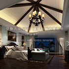 غرفة نوم ماستر كلاسيكية داخلية