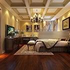 غرفة نوم ماستر كلاسيكية في السقف
