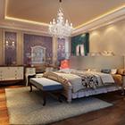 الرئيسية الغربية تصميم غرفة نوم رئيسية الداخلية