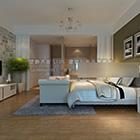 الرئيسية الحديثة غرفة نوم رئيسية