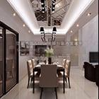 Villa Koti ruokasali tilaa