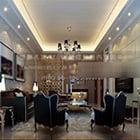 Neo Classic Living Room Interior