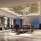 Luxury Restaurant Vip Space Interior