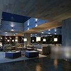 Villa Luxury Outdoor Living Room Interior