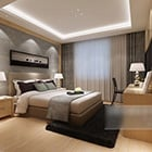 Simple Home Modern Bedroom Interior