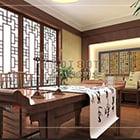 Sala di studio in stile cinese V6