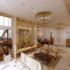 غرفة المعيشة الحديثة الداخلية V22