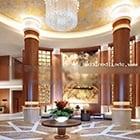 Classic Hotel Lobby Interior