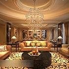 Warm Style European Living Room Interior