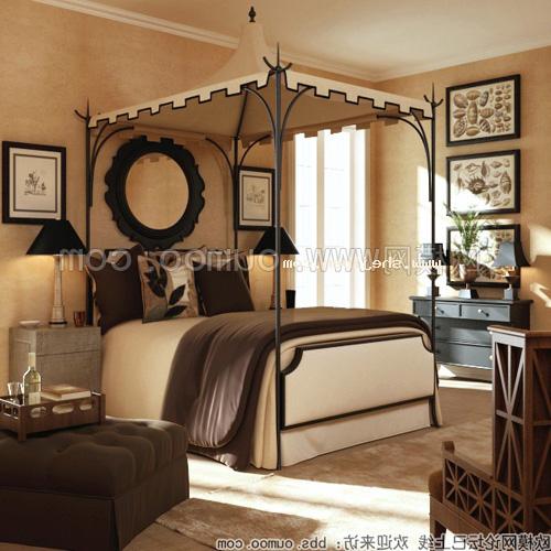 Southeast Asian Bedroom Interior V2 3d Model Max Vray Open3dmodel 324301