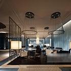 Wnętrze restauracji w stylu współczesnym