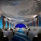 Restaurant Modern Ceiling Interior