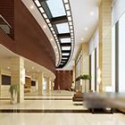 Wnętrze holu centrum handlowego