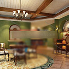 Restaurant Bar Counter Interieur V2