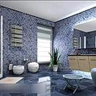 Mosaic Bathroom Design Interior