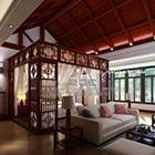 Chinese Bedroom Ceiling Design Interior
