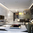Clean Modern Living Room Design Interior
