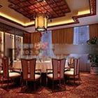 Chinese Private Room Ceiling Design Interior
