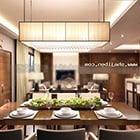Warm Modern Living Room Design Interior