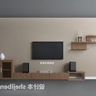 Chinese Style Tv Wall Design V1 Interior