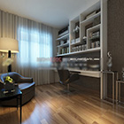 Design moderno della sala studio V1 interni