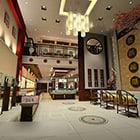Interior design di gioielleria