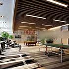 Wnętrze centrum siłowni
