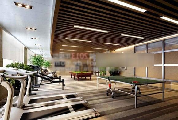Gym Center Interior