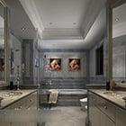 Ceramic Wall Toilet Interior