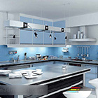مطبخ مفتوح على الطراز الداخلي