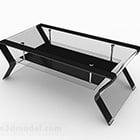 Home Glass Tea Table Design