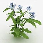 Голубой цветник V3